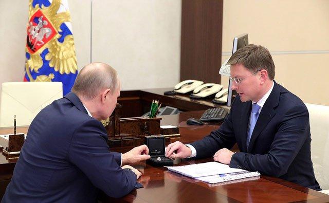 Sergey Ivanov en Putin