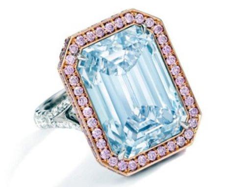 Sothebys Hong Kong veilt blauwe diamant van 14 karaat