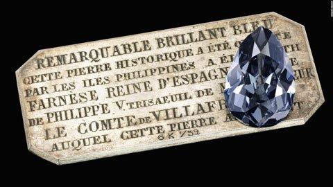 Farnese Blue diamant