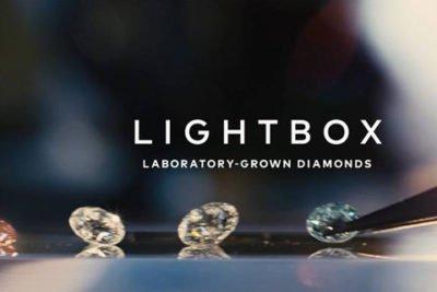 laboratoriumdiamanten lightbox