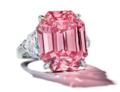 Winston Pink Legacy – 19kt steen brengt $ 50 miljoen op