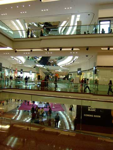 Hong Kong shopping center