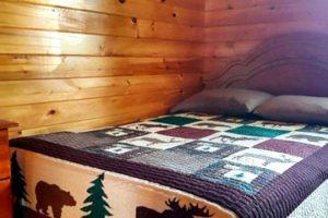Renous slaapkamer