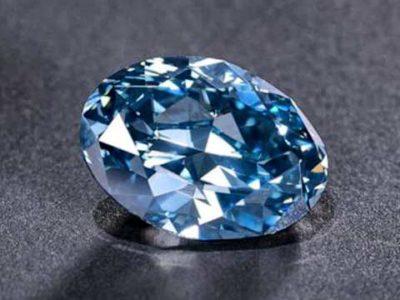 Botswana blue diamond