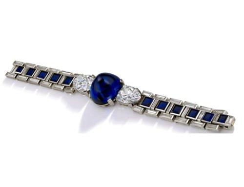 Art Deco Cartier armband hoofditem op Sotheby's verkoop in Genève