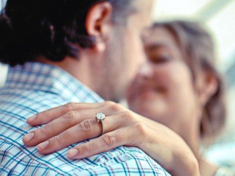 koppel verlovingsring