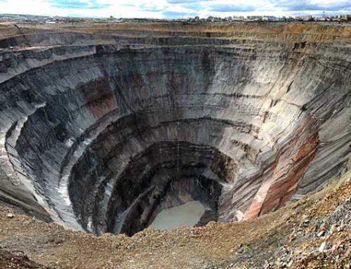 Van Mirny (Siberië) tot sieraden. De diamanttocht die maanden duurt