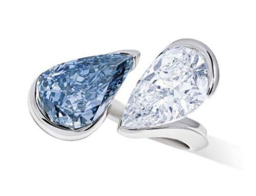 Ring met dubbele diamant haalt $9M op bij Christie's