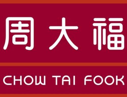 Chinese heropleving tilt Chow Tai Fook de goede richting uit